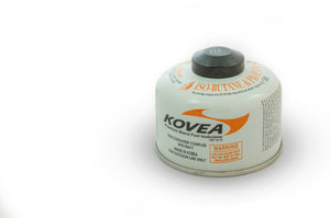 Kovea 110g Screw-on style Isobutane gas canister - Bulk Pack of 24
