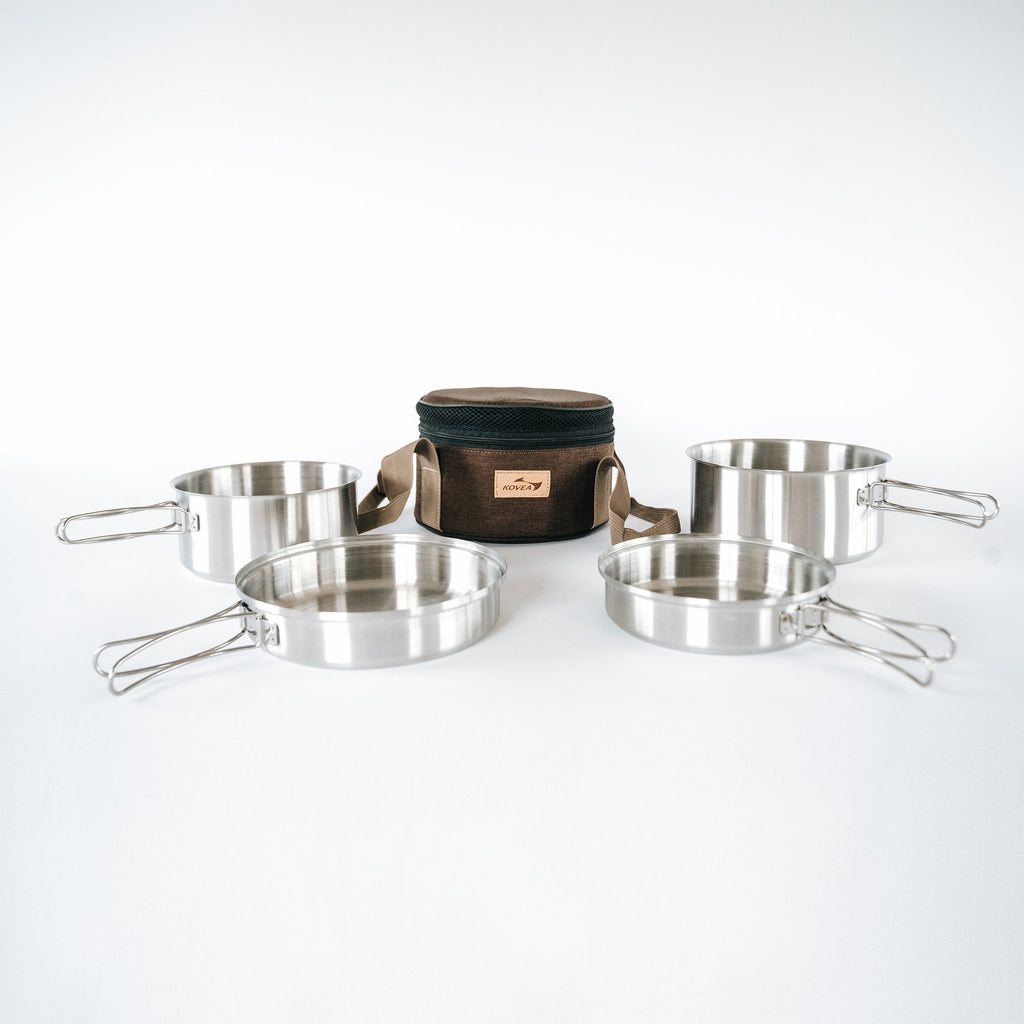 Kovea Mini Stainless Cookware