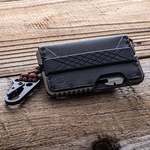 Dango Products T01 TACTICAL BIFOLD WALLET - SPEC-OPS - SPECIAL EDITION - BURNT BRONZE
