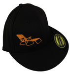 rideSFO Lounge Hat Black/Orange
