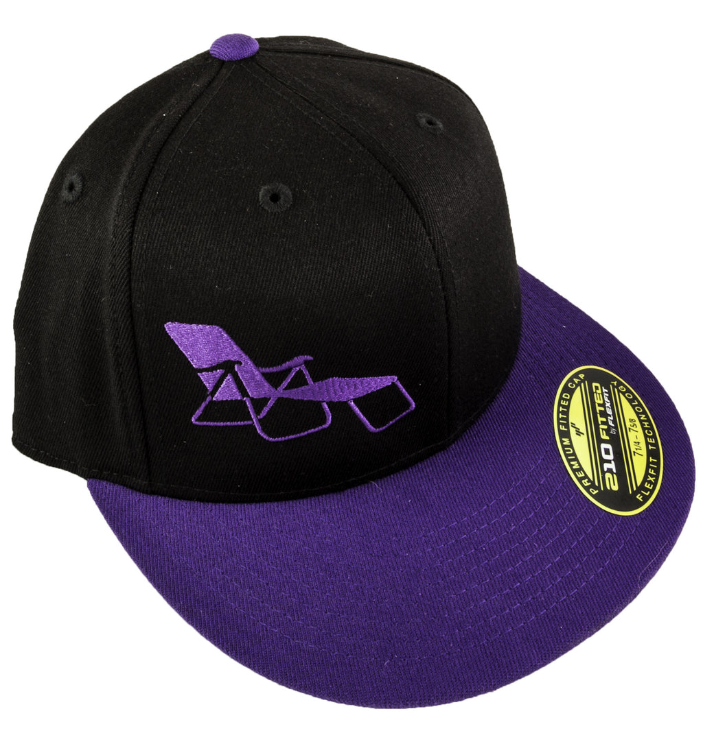 rideSFO Lounge Hat Black/Purple