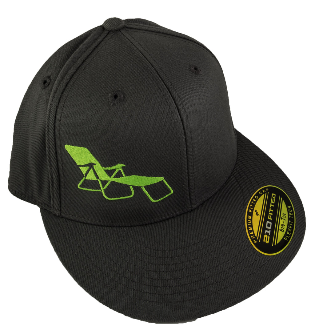 rideSFO Lounge Hat Grey/Green