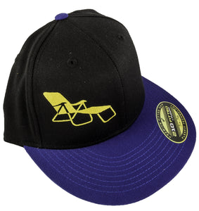 rideSFO Lounge Hat Blk/blue/Gold