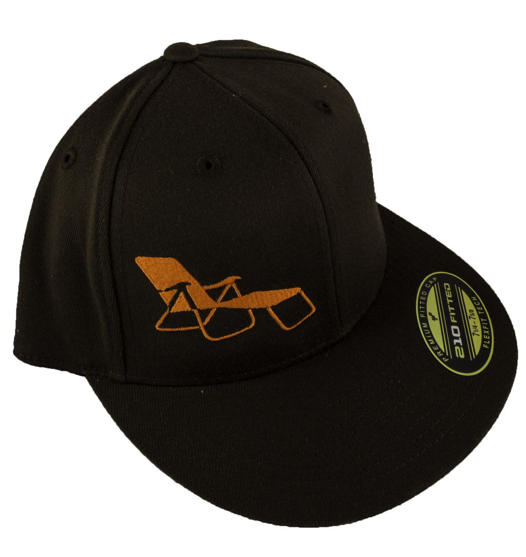 rideSFO Lounge Hat Brown/Orange