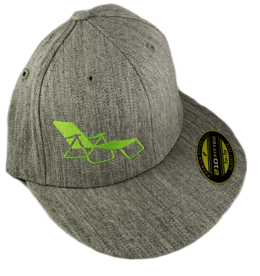 rideSFO Lounge Hat Heather/Green