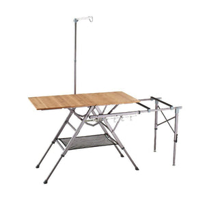 AL Bamboo One Action Kitchen w/ Carry Bag