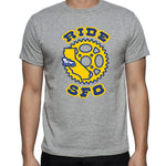 goldenSFO T-shirt Heather Gray