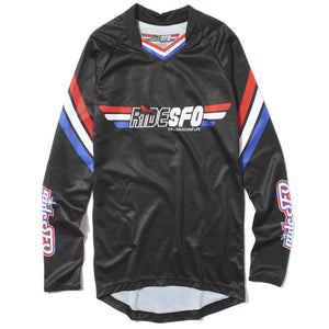 rideSFO Half the Battle Jersey L/S