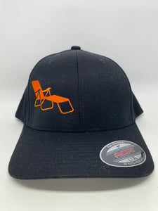 rideSFO LoungeChairLife Classic Hat Orange/Black
