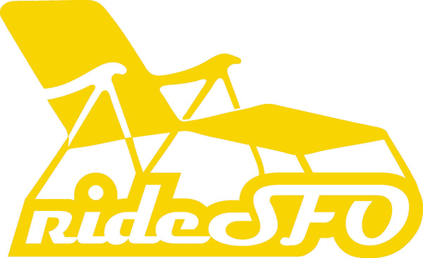 rideSFO Integrated Sticker YEL