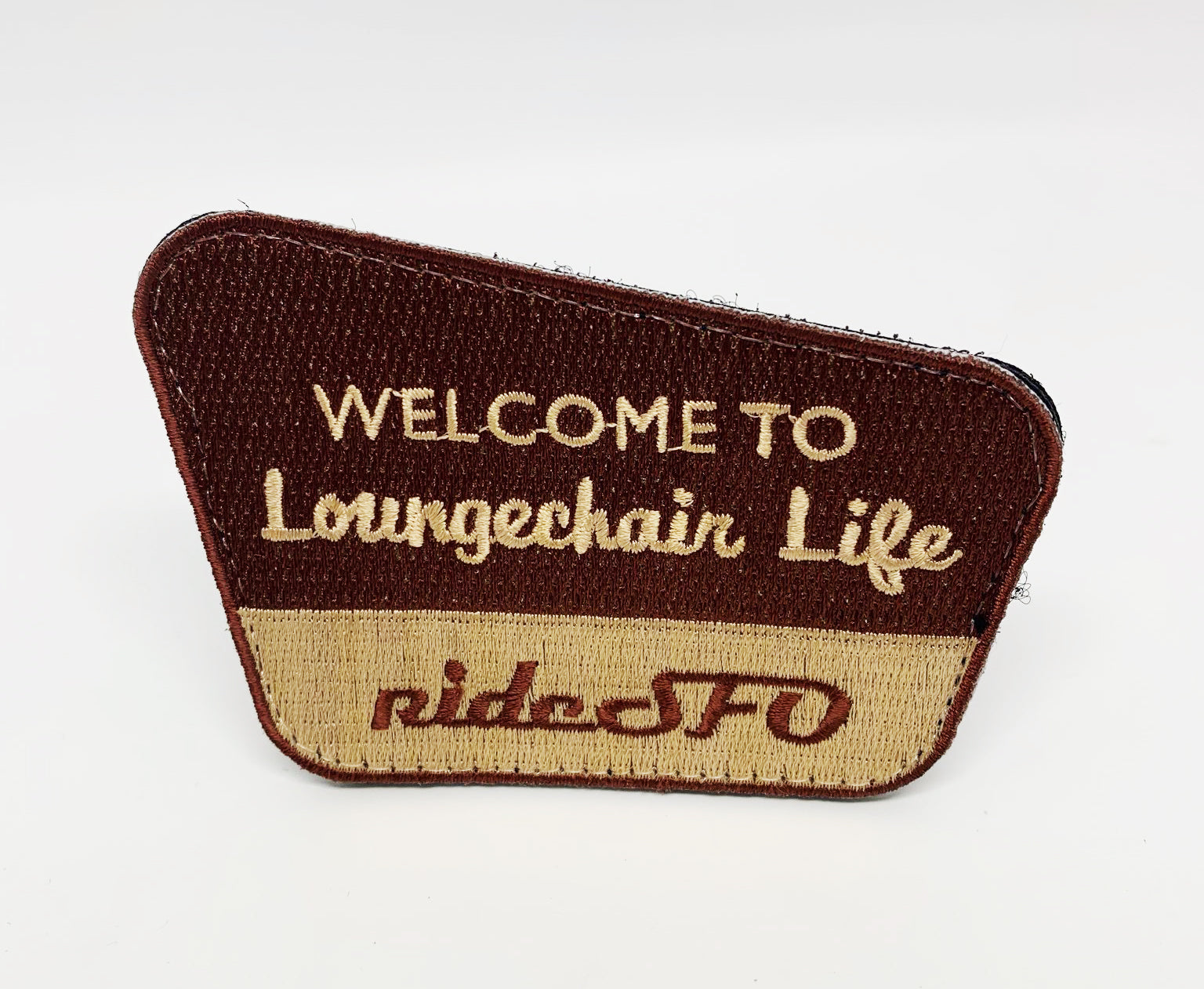 rideSFO Loungerchair Life Patch