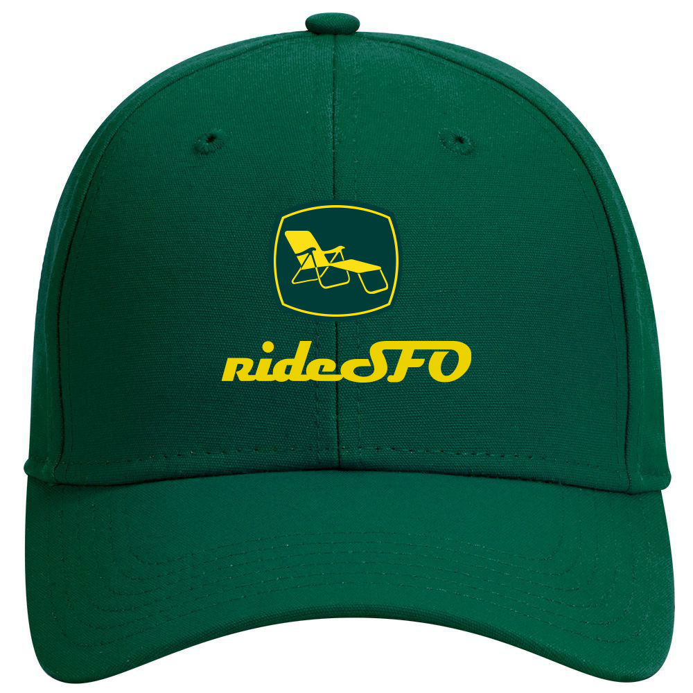 We Farm Fun Hat Green