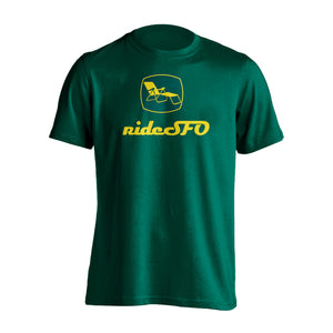 rideSFO Shirt Green