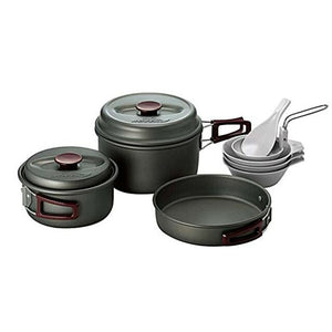 Kovea Hard 2-3 Camping Cookware Portable Hard Anodizing Coating Outdoor Dinner