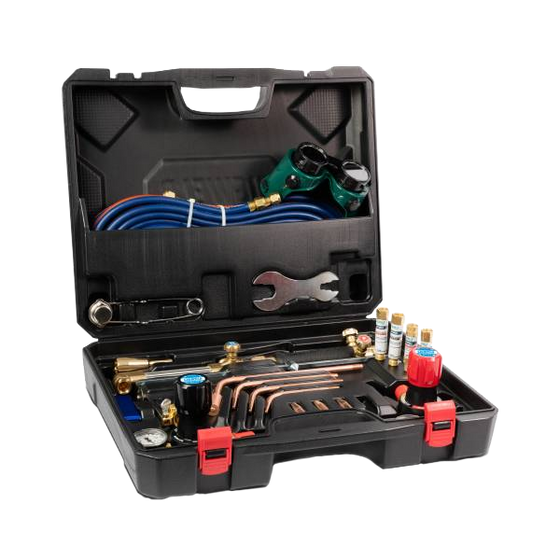 Cigweld  Cutskill Tradesman Oxy/Acetylene Plus Gas Cutting & Welding Kit  (Includes Flashbacks) CIG208007