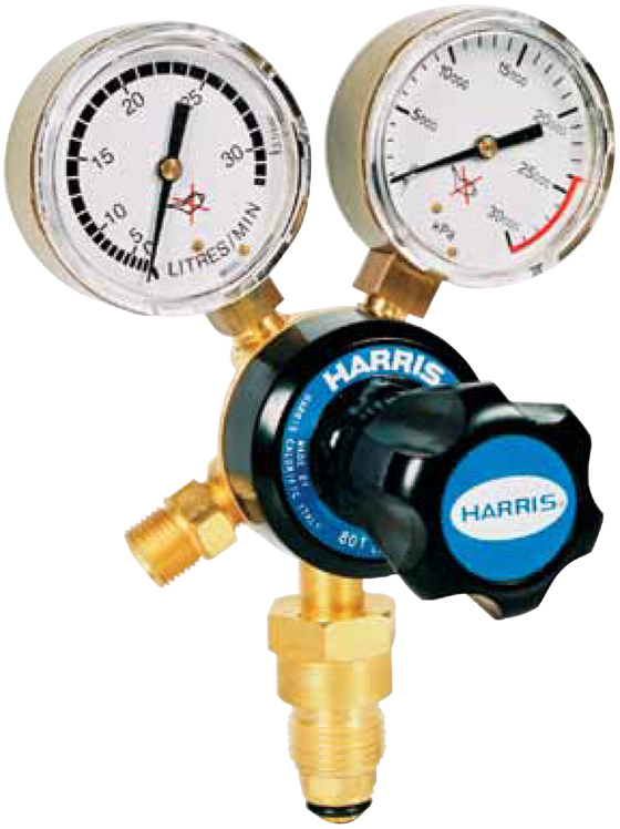 Harris 801 Argon Regulator GAHA801E30L