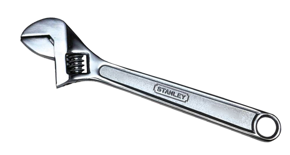 "Stanley 200mm/8"" Adjustable Wrench THS87432"