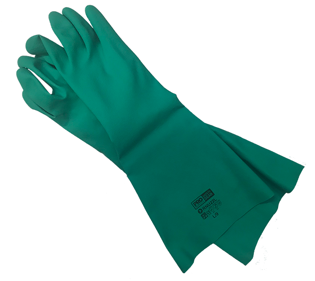 ACGCH45 Gloves Chemical 45cm Green