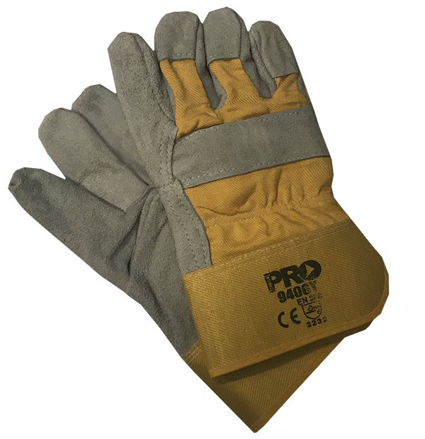 ACGJ Gloves Grey/Yellow