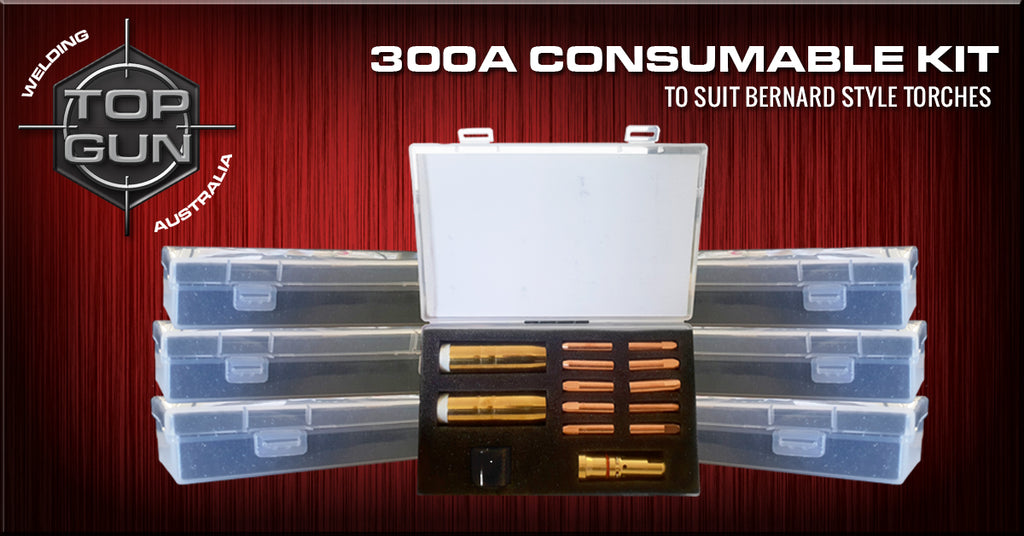 Topgun Bernard 300A Consumable Kit