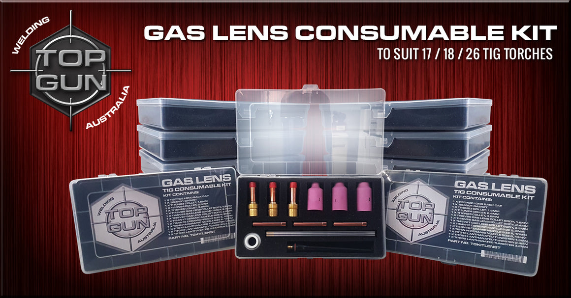 Topgun Tig Gas Lens Consumable Kit