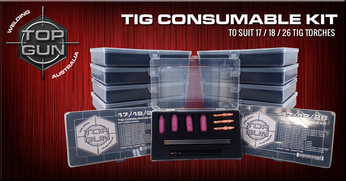 Topgun Tig 17/18/26 Consumable Kit