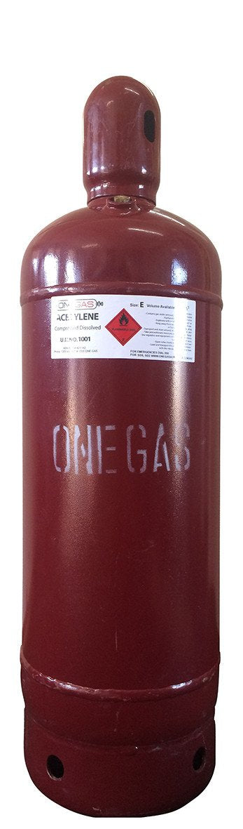 E5 Size Acetylene Gas Bottle/Cylinder