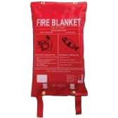 Fire Blanket and Wall Bag 1200mm x 1800mm ACSB2