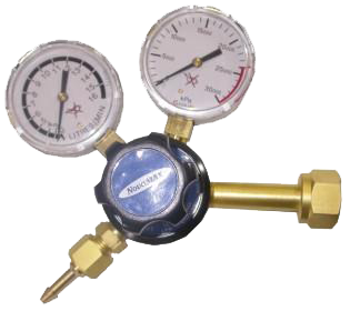 Lincoln Twin Gauge CO2 Gas Regulator RRG001
