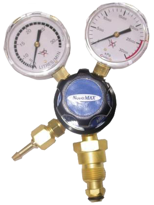 Lincoln Twin Gauge Argon Gas Regulator RRG002