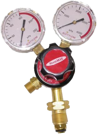 Lincoln Twin Gauge Acetylene Gas Regulator RRG004