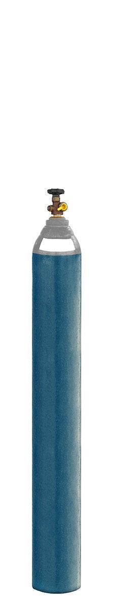 D Size One Gas 52 Argon/Co2/Oxygen Gas Bottle/Cylinder