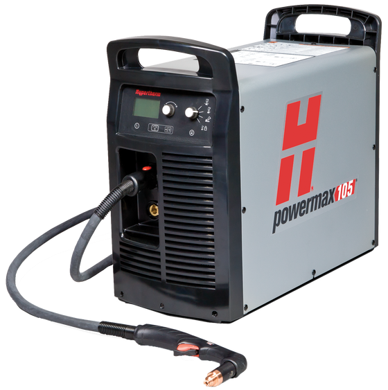 Hypertherm Powermax 105 Plasma Cutter (with 75˚ hand torch) HYM059416