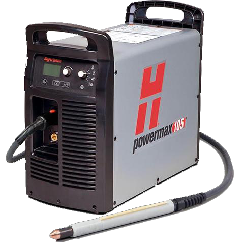 Hypertherm Powermax 105 Plasma Cutter (with 180˚ machine torch) HYM059420