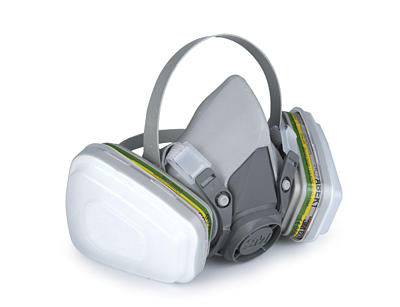Respirator 3m 6000 series Half Mask Medium ACDM6200