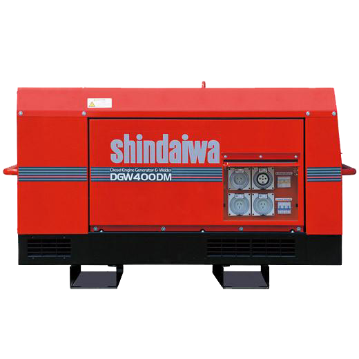 Shindaiwa Generator/Welder Mine Spec 400amp GEDGW400DM