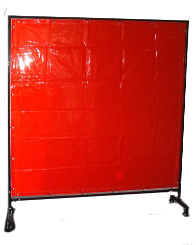 Welding Curtain 1800mmx2000mm Red ACWC1820R