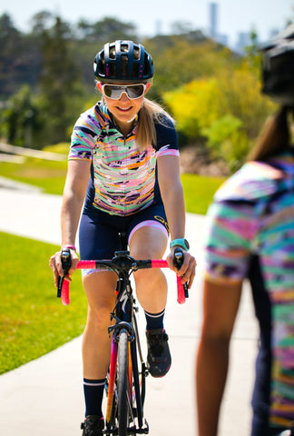 ESSENTIAL 'PEACH' RACE cycling jersey