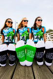 ESSENTIAL 'GREEN' socks - Cycling Apparel | Queen of the Mountain