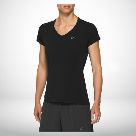 Asics V neck SS Top (F)