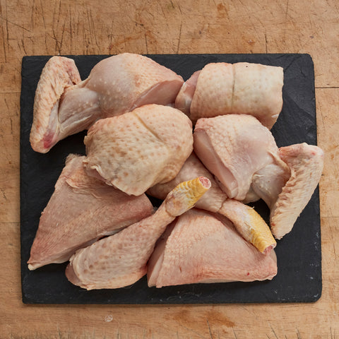 Sutton Hoo Free Range Chicken Portioned