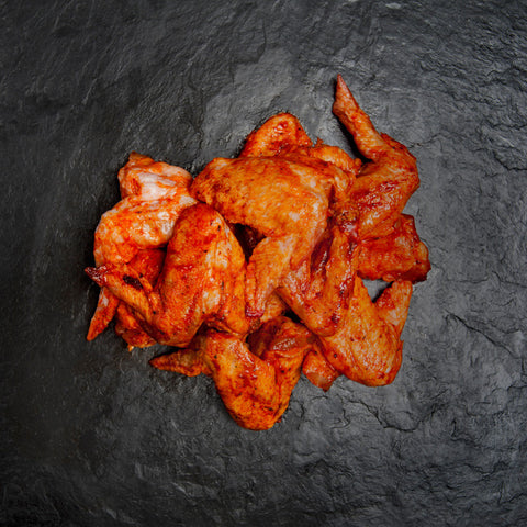 Suffolk reared Piri Piri Chicken wings