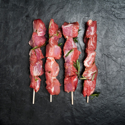 Marinated Suffolk reared Lamb Kebab