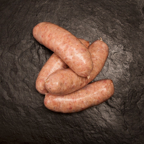 Pork & Apple sausage