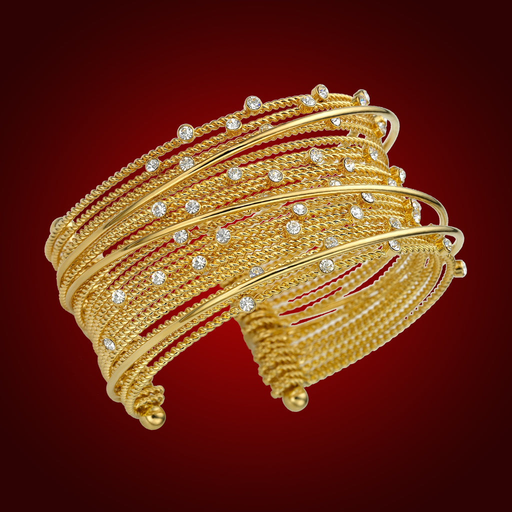 """Celestial Cascade"" Crystal Bangle 2248400"
