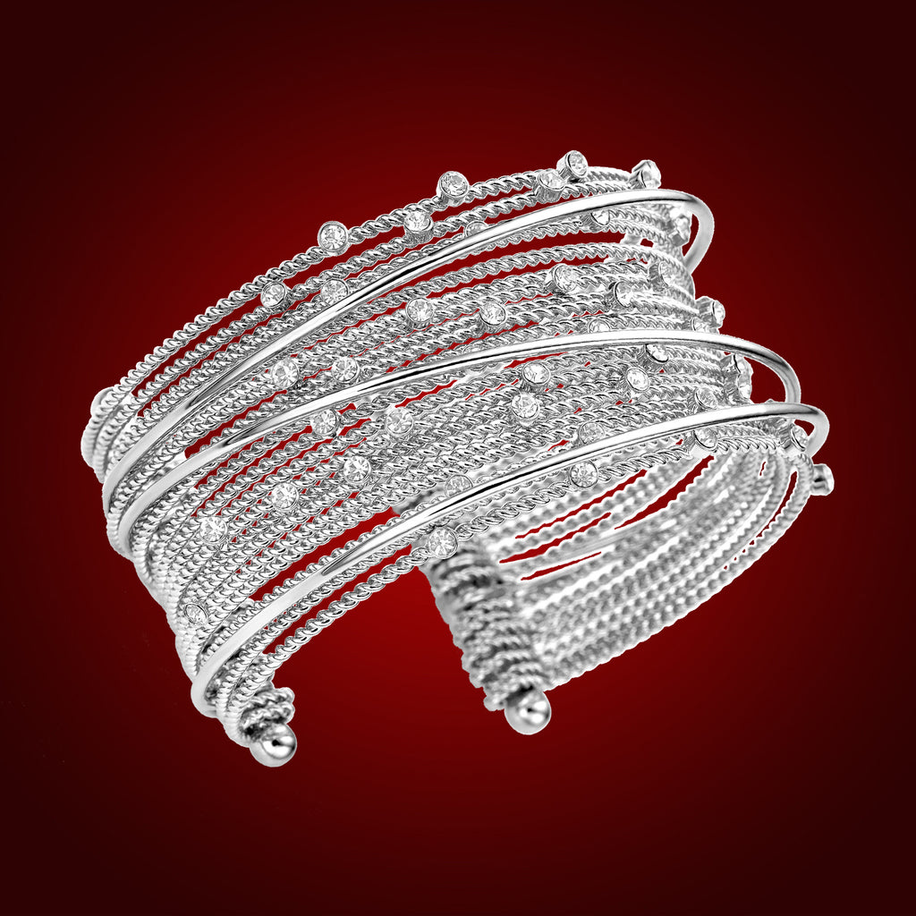 """Celestial Cascade"" Crystal Bangle 2248401"