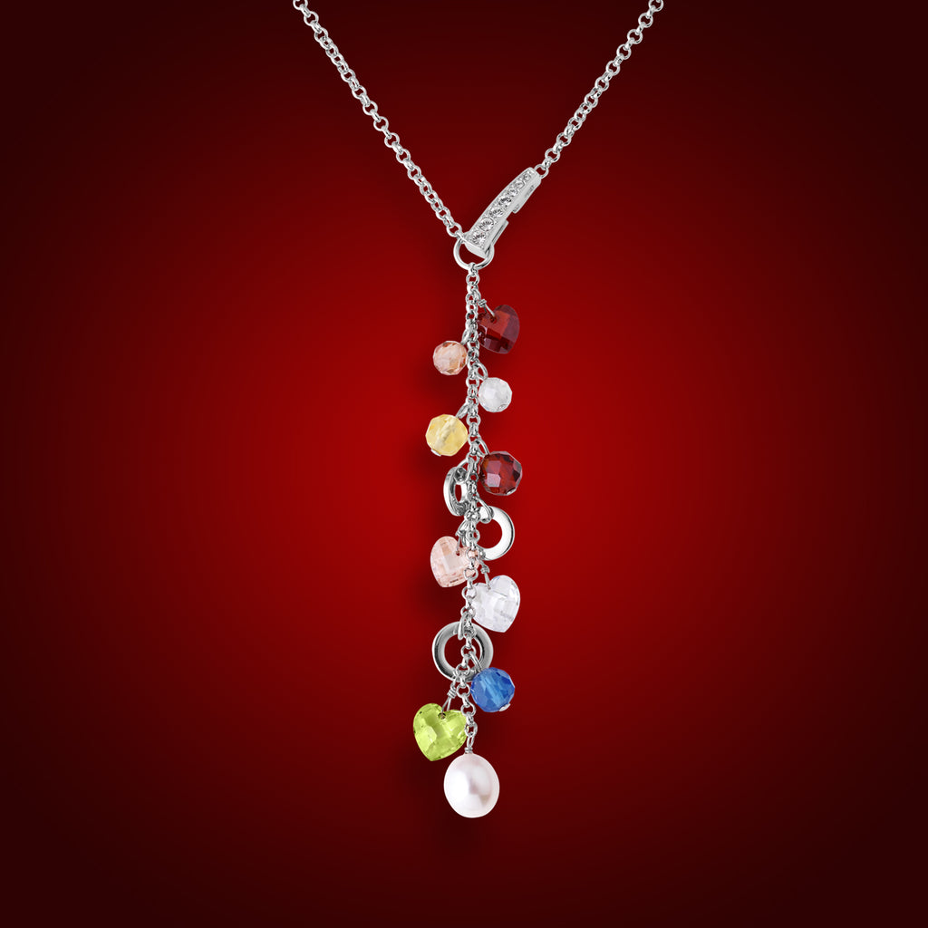 """Aqualier"" Crystal Necklace 1763000"