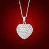 Mosaic: Heart, Germanium Crystal Heart Pendant 2125100