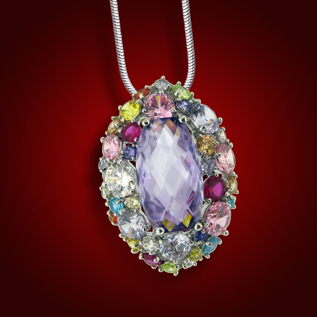"""Vanity Flair"" Crystal Pendant 2257600"