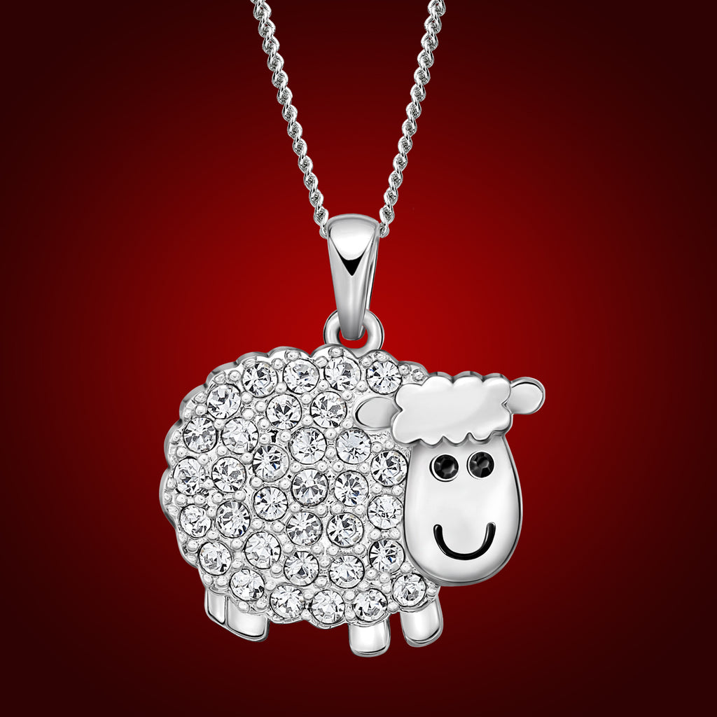 Year of The Sheep Crystal Pendant 2356200